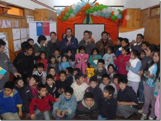 FOSIS apuesta por los pequeños más vulnerables de La Araucanía