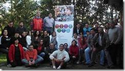 Funcionarios de Bienes Nacionales de La Araucanía celebraron aniversario Nº 80