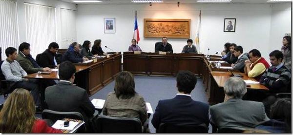 Concejo Municipal Estudiantil sesionó en Padre las Casas
