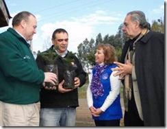 Empresario donó dos mil árboles nativos a Temuco y Padre las Casas
