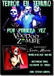 Primera vez en Temuco: Voodoo Zombie, un espectáculo fuera de serie