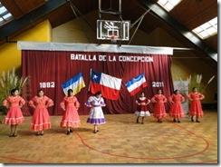 Estudiantes recuerdan a los jóvenes de la Batalla de la Concepción