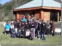 Jóvenes de Liceo Bicentenario Araucanía de Villarrica conocieron técnica del compostaje