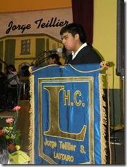 Jorge Teillier fue homenajeado en Liceo de Lautaro que lleva su nombre