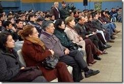 Jóvenes promesas del Municipal se lucieron en centro penitenciario de Temuco