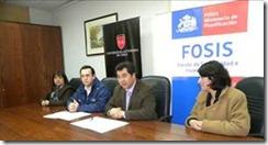Fósis y Universidad Autónoma firman convenio para capacitar a emprendedores