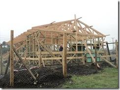 Avanzan obras de construcción de sede vecinal Los Poetas en Villarrica