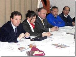 Alcalde Astete expuso proyectos villarricenses a Ministro de Vivienda
