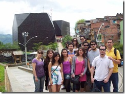 Estudiantes de Arquitectura de la Universidad Autónoma de Chile viajan a Medellín