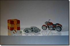 Joven pintor expone en Centro Cultural de Angol