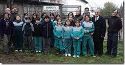 Municipio de Villarrica ya comenzó entrega de contenedores de reciclaje en colegios de la comuna