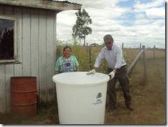 Arduo trabajo de apoyo del municipio de Temuco en servicio de los habitantes del sector rural