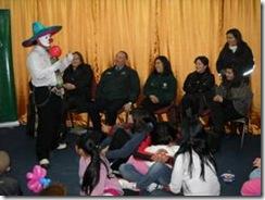 OPD llenó de alegría el Centro Penitenciario Femenino de Temuco