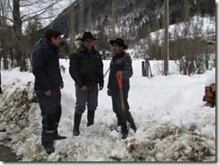 Entregan ayuda a Curarrehue por nevadas