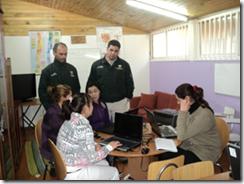 Internas de la cárcel de Temuco reciben capacitación en alfabetización digital