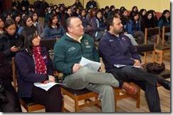 """Autoridades lanzaron programa """"escuelas de ciudadanía"""" en Temuco"""