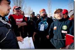 Culminó novena versión de la Carrera Internacional Mushing Lonquimay 2011