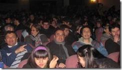 Mil personas disfrutaron función gratuita de Teatro Cinema