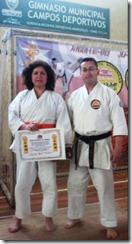 Karate-Do ascendió a dos cultores a cinturón café