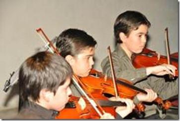 Orquesta Infantil del Teatro Municipal realiza brillante presentación