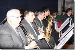 Brillante Concierto de Gala realizó Banda Instrumental Santa Cecilia