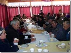 Adultos Mayores inician celebración de Fiestas Patrias