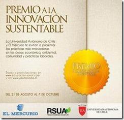 Premio a la innovación sustentable