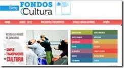 Ya están disponibles las bases de Fondos Cultura 2012