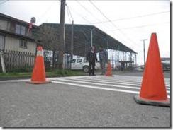 Municipalidad instaló barras alertadoras y demarcación en calles de Villarrica