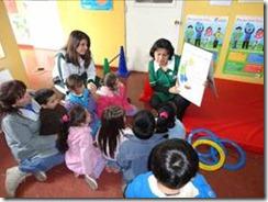 Los niños y niñas de Integra eligen vivir sano