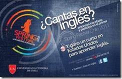 Universidad Autónoma de Chile premia a secundarios que graben canción en inglés y la suban a Youtube