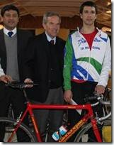 Destacado deportista regional estuvo en Barcelona y el País Vasco donde compitió con aventajados ciclistas