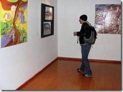 Veinticuatro expositores exhiben sus obras en el Museo Ferroviario Pablo Neruda