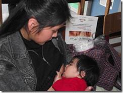 Cesfam de Licán Ray da el ejemplo en fortalecimiento y apoyo a lactancia materna
