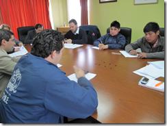 Serplac Araucanía participa en Mesa de Planificación Social en Ercilla