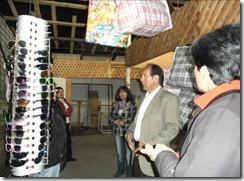 Alcalde Astete evaluó recuperación de comerciantes post tornado