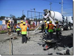 Alcalde Astete monitoreó obras de pavimentación participativa en Villarrica
