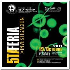 UFRO Exhibirá lo mejor de su actividad científica en Feria de Investigación