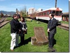 MOP finaliza diseñó arquitectónico para mejoramiento de la Casa de Maquinas del Museo Ferroviario de Temuco.