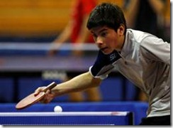 Oscar Manríquez de Temuco consigue oro en emocionante final en Tenis de Mesa sub 14