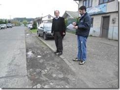 Municipio de Villarrica mejorará calle Manuel Antonio Matta