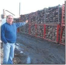 Empresa Casagrande apuesta por la venta de leña seca certificada