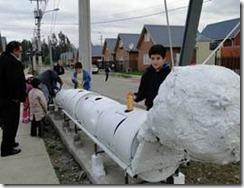 Vecinos se la juegan por un ecobarrio en Padre Las Casas