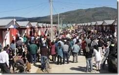 Inauguran 144 nuevas viviendas en Loncoche