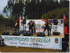 La comuna de Ercilla, celebra fiestas Patrias