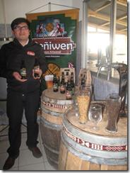 Cerveza Peñiwen el sabor de la hermandad