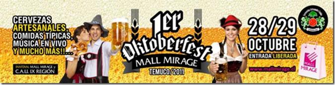 Todo listo para el primer Octoverfest en Mall Mirage