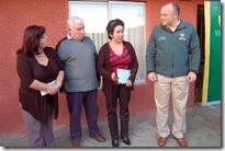 Alcalde Becker inauguró alarmas comunitarias en Villa Florencia