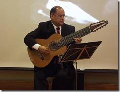Obra en guitarra: Ülkantum Mapuchinas en Museo Araucano