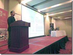 Escuela de Arquitectura UA y el IE+Hábitat realizaron seminario sobre modelos de planificación en escenarios de conflicto social